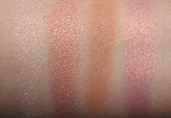 Charlotte Tilbury Lightgasm Face Palette Swatches