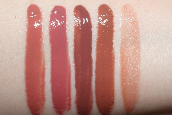 Hourglass Unreal Lip Gloss Swatches