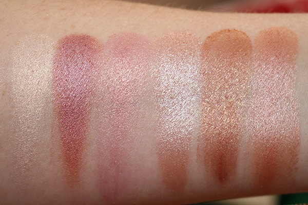 Endless Orgasm Palette Swatches