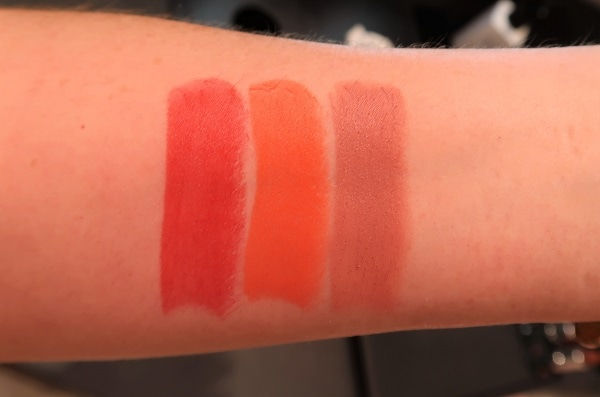 Le Rouge 333, 316, 111 Swatches