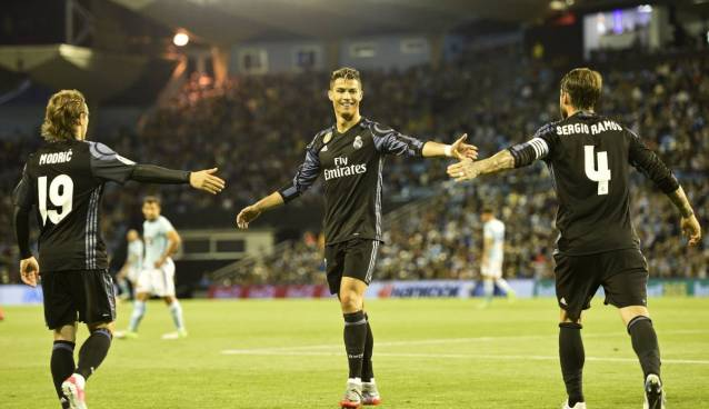 Celta-Real Madrid 1-4