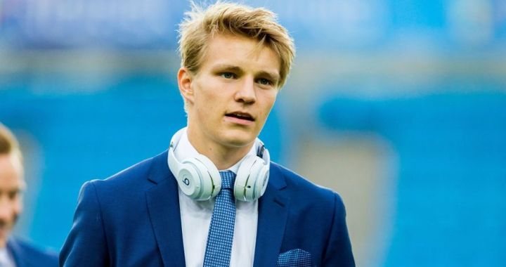 Martin Odegaard si-a prelungit contractul cu Real Madrid