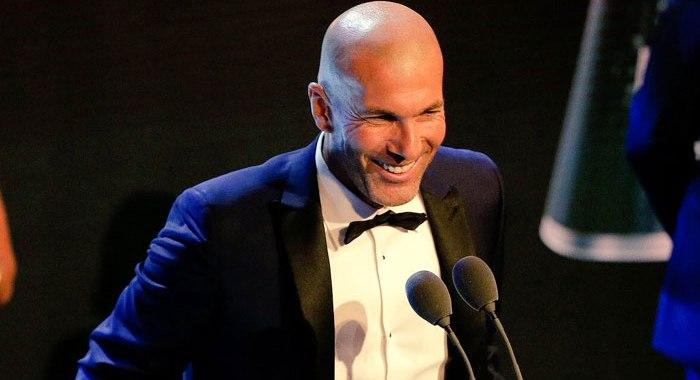 THE BEST! Zinedine Zidane desemnat cel mai bun antrenor din lume