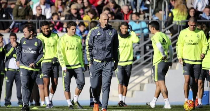 Terapie de grup: ce s-a discutat intre Zidane si jucatorii sai