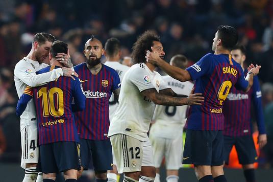 El Clasico: Real Madrid – FC Barcelona, LIVE de la 21:45