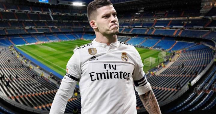 Bienvenido, Luka Jovic! OFICIAL: Real Madrid l-a cumparat pe atacantul lui Eintracht