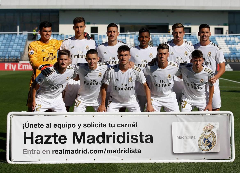 Real Madrid - Real Madrid Castilla - Rayo Majadahonda - 28-09-2019