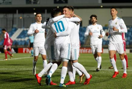 La Fábrica, gol de Cristo González - Real Madrid Castilla
