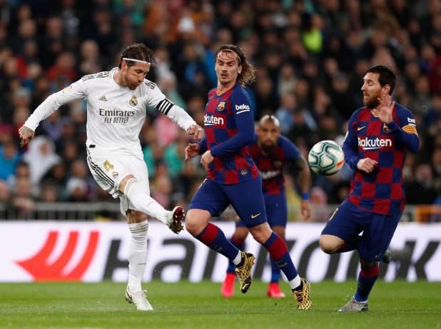 Real Madrid - Real Madrid - Barcelona - 01-03-2020