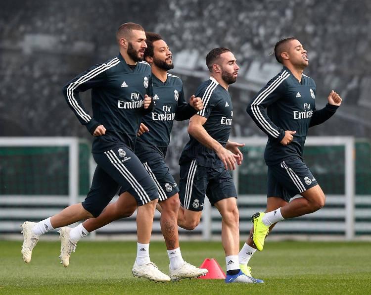 Physical session at Real Madrid City   Real Madrid CF
