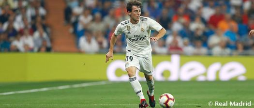 Odriozola makes his official Real Madrid debut | Real ...