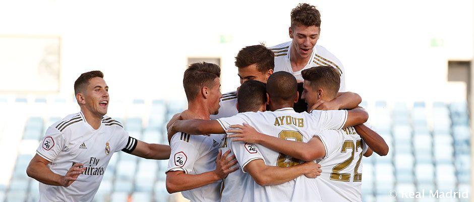 Real Madrid Castilla - Pontevedra La Fábrica