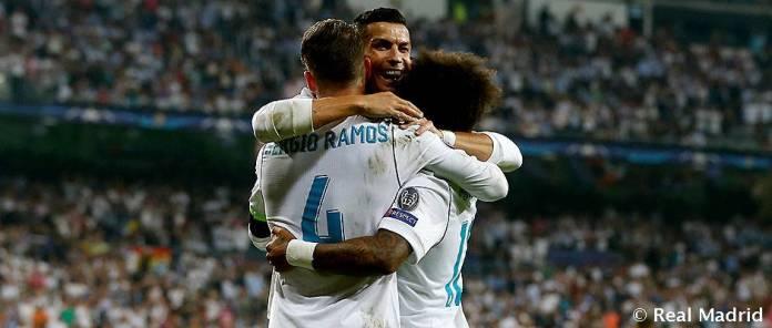 Cristiano, Ramos, Marcelo
