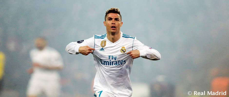 Hala Madrid Hd Wallpaper Cristiano Ronaldo Encadena 9 Partidos De Champions