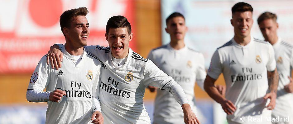Navalcarnero - Real Madrid Castilla. La Fábrica
