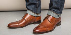 Leather Men's Dress Shoes
