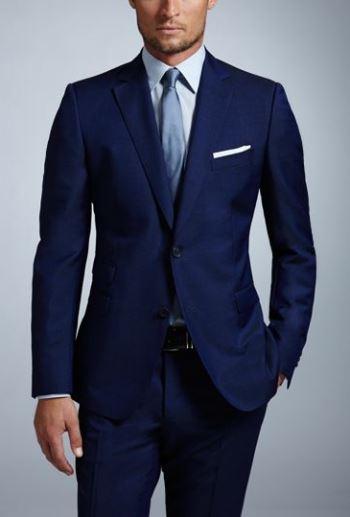 Znalezione obrazy dla zapytania suit navy blue