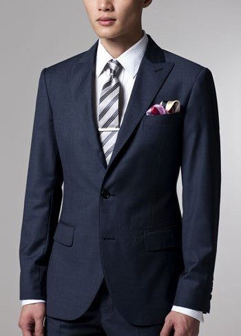 Color in Menswear  The Navy Blue Mens Suit