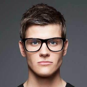 guy wearing eyeglasses