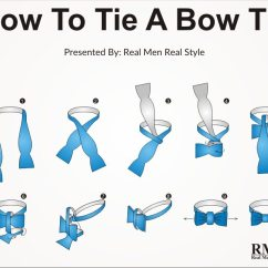 How To Tie A Bow Step By Diagram Microsoft Lync | Self-tying Bowtie Bow-tie Knots In 10 Steps