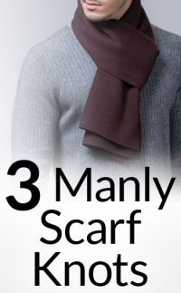 3 Masculine Ways To Wear Scarves | How To Tie A Manly ...