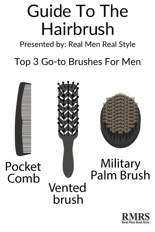 How To Brush Your Hair Correctly Ultimate Guide To Mens