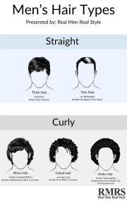hairbrush men's hair types