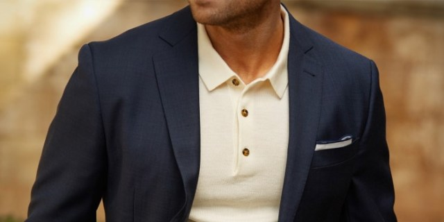 young mens style polo