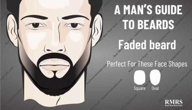 faded beard style