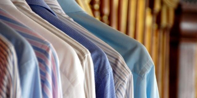 dress shirt rack