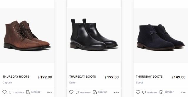 shoptagr thursday boots