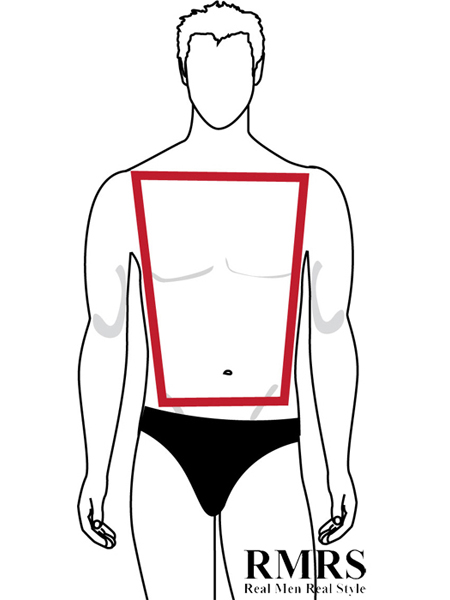 """Trapezoid The """"Perfect"""" Male Body Shape"""