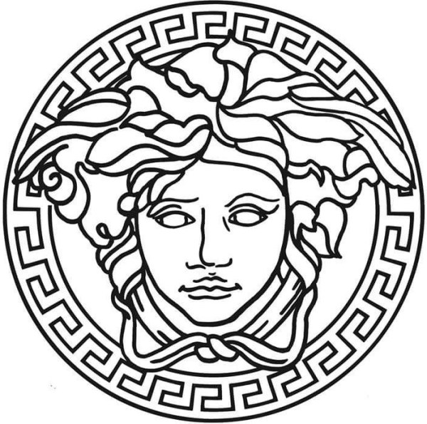 versace medusa - clothing logos with hidden meaning