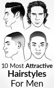 men's hairstyles - attractive