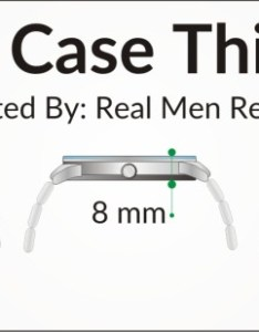 Watch case size also sizes guide how to buy the right for your wrist rh realmenrealstyle