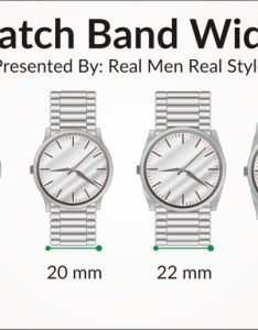 Watch size also sizes guide how to buy the right for your wrist rh realmenrealstyle