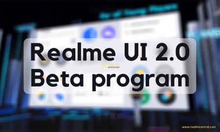 Realme UI 2.0 Beta program