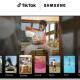 TikTok on Samsung TV