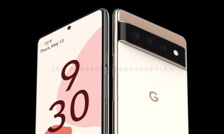 Pixel 6 Render