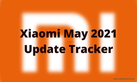 Xiaomi May 2021 Update Tracker