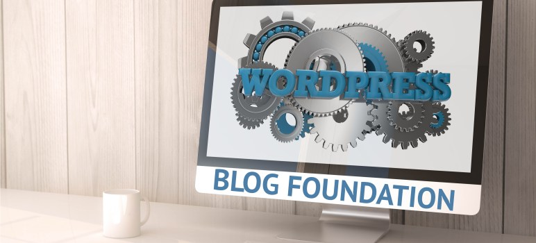 solid blog foundation