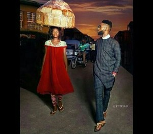 From a Bread Hawker To A Professional Model