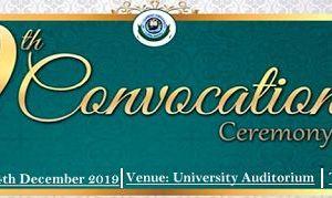 Al-Hikmah University 9th Convocation Ceremony Date