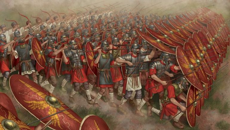Nifty Animation Shows The Evolution Of Roman Battle Tactics