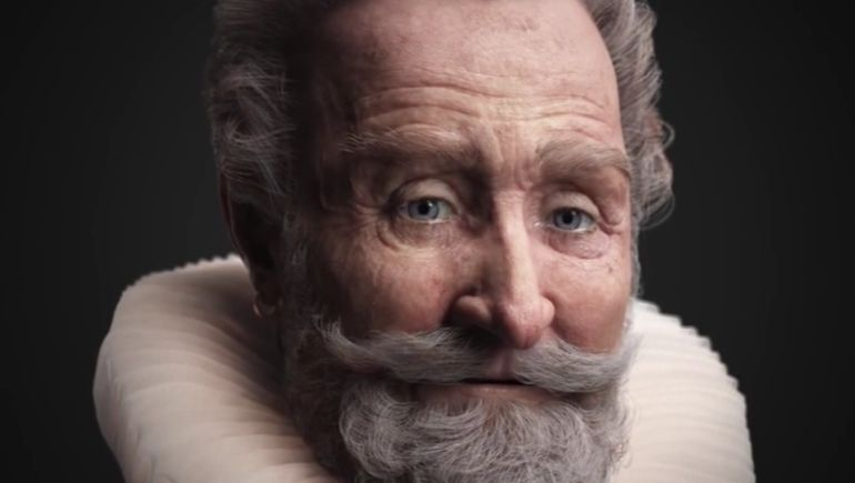 Superb Animation Presents The Facial Reconstruction Of