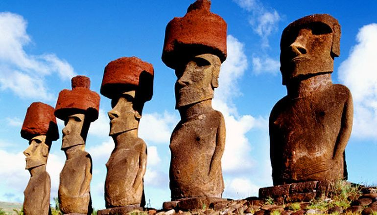 The Pukao Hats Of Easter Island Statues Allude To An