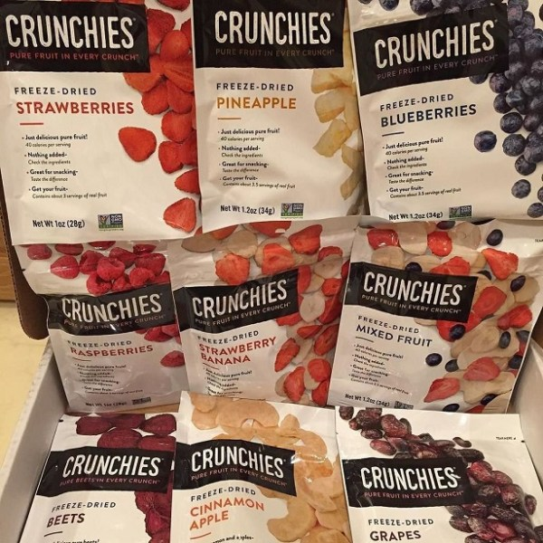 Crunchies Freeze Dried Fruit Real Mom of SFV