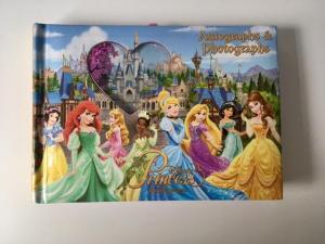 Disney souvenirs autograph book