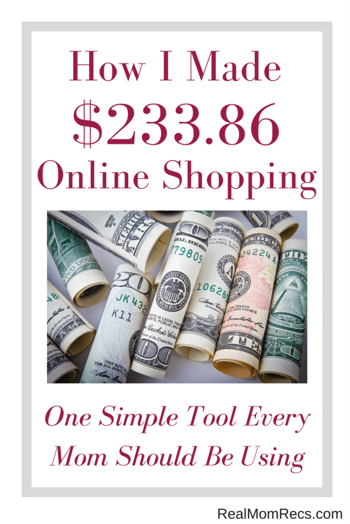 Money making tool Real Mom Recs Ebates
