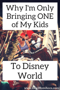 bring one kid to disney